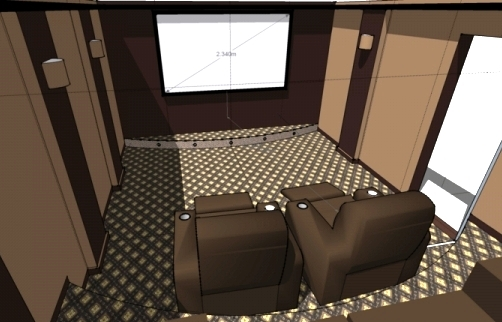 home theater design.