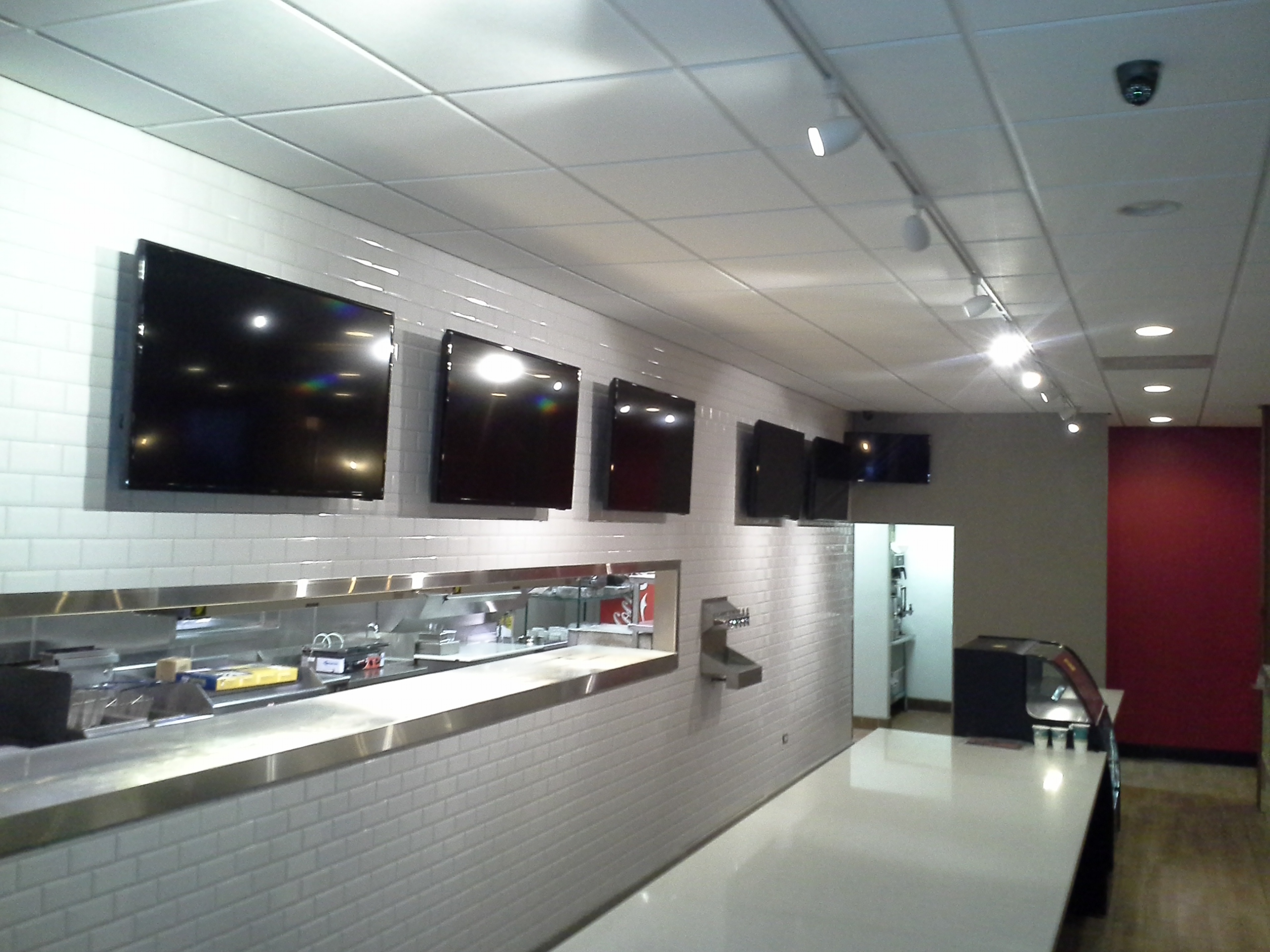 Sports Bar Resurant TV Installation